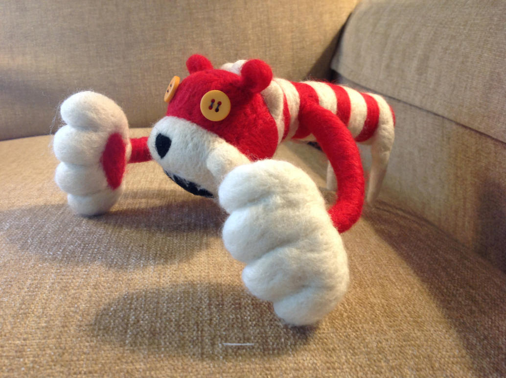 Mini Stocking Tiger by sarabi