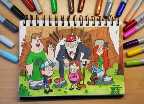 Gravity Falls Artwork