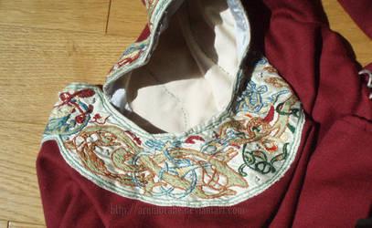 Robe scandinave 1180 detail du col by Arumorahe