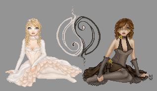 Yin and Yang by Angelic-Sakuras