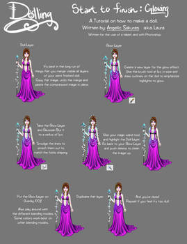 Dolling Tut: Glow Effect