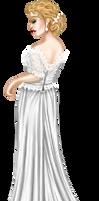 Annie's Wedding Gown by Angelic-Sakuras