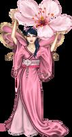 Cherry Blossom Fairy by Angelic-Sakuras