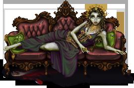 Zombie-Queen by Angelic-Sakuras
