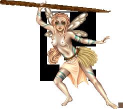 Tribal Fairy by Angelic-Sakuras