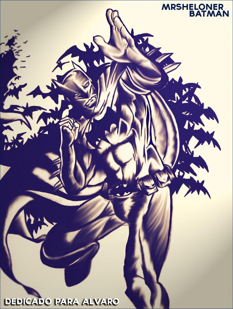 Batman by Mrsheloner