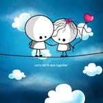 Let's fall in love together by MediaJamshidi