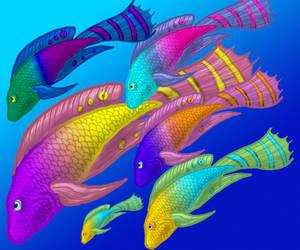 Fish Concept art