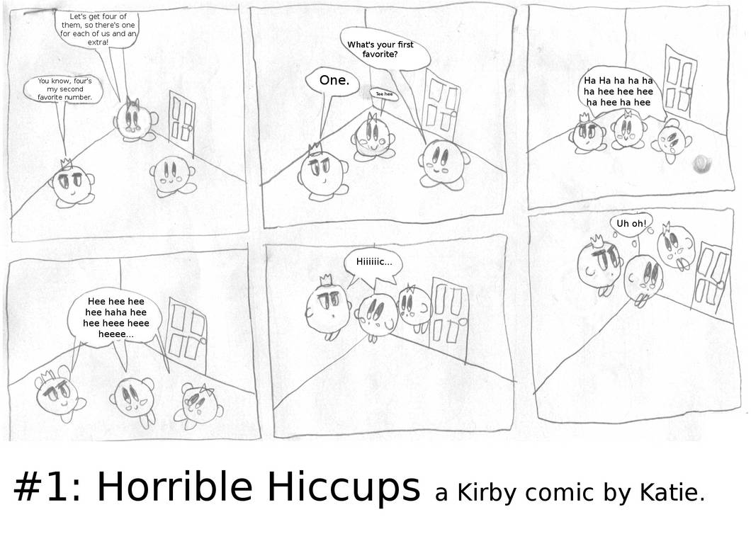 Horrible Hiccups page 1 by bluerosekatie