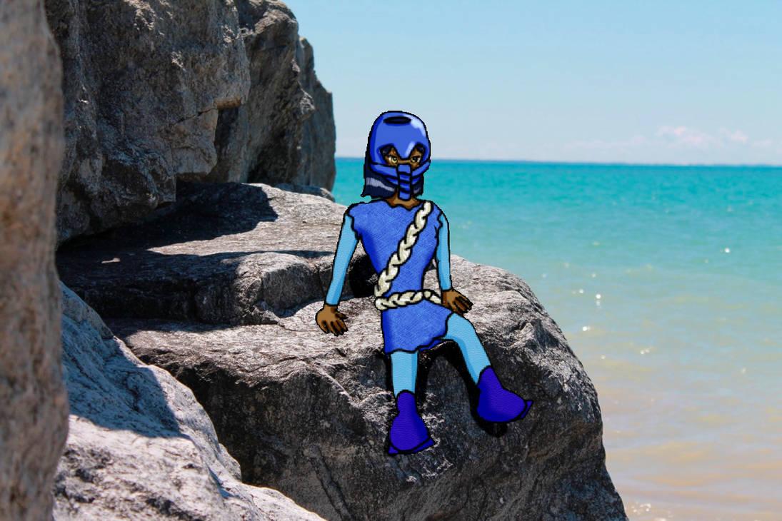 Macku (Humanized) by bluerosekatie