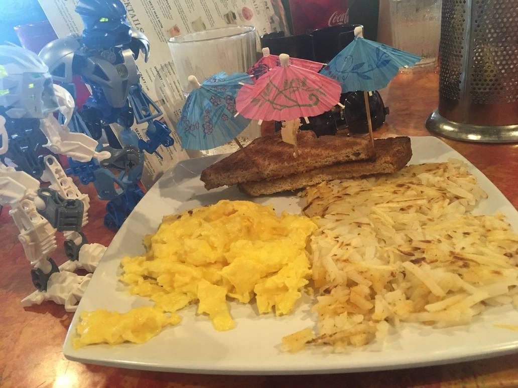 Breakfast I by bluerosekatie