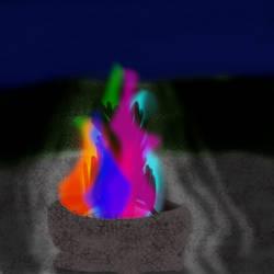 Aurenflare by bluerosekatie