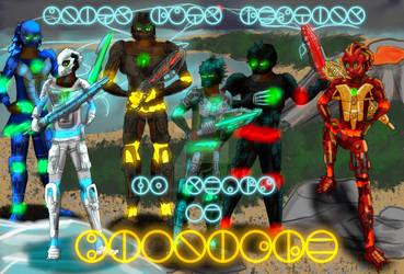 20 Years of Bionicle (Toa Inika Humanized)