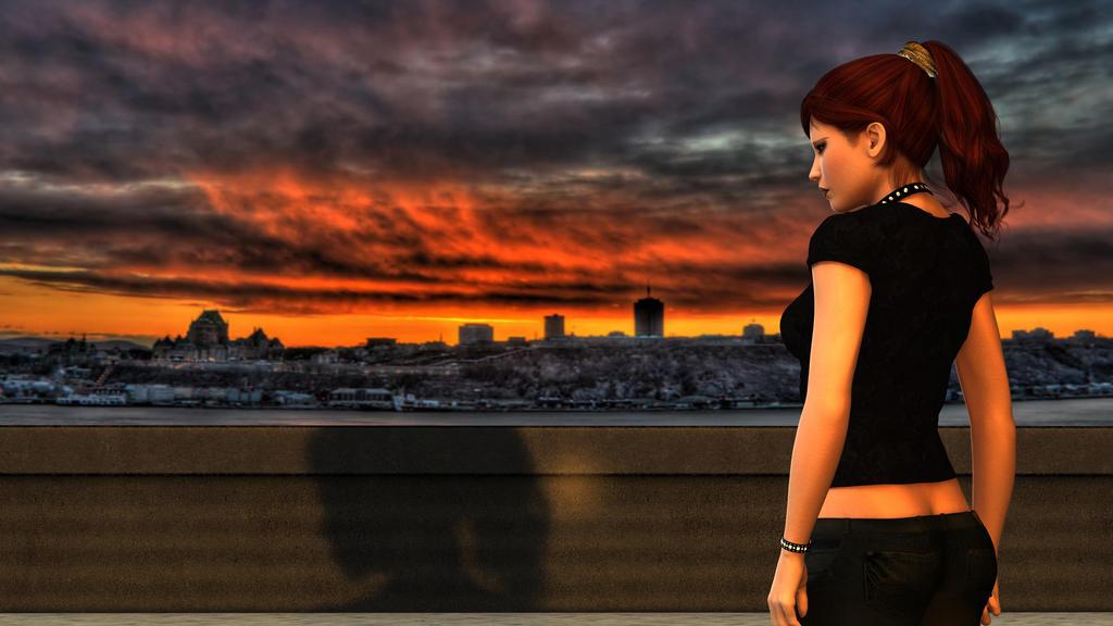 Angela Price: Angela Price City Scape By AMDeLand-Baldwin On DeviantArt