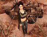 Betsy Scott Techno-Wizard Rifts by AMDeLand-Baldwin