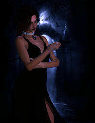 Elizabeth Bathory by AMDeLand-Baldwin