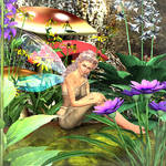 Flower's of May Fairy by AMDeLand-Baldwin