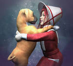 The Healing of a Puppy's Love by AMDeLand-Baldwin