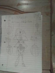 My designed Bomberman oc