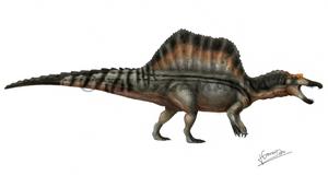 Spinosaurus aegyptiacus by jesusgamarra