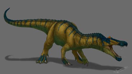 Baryonyx walkeri by jesusgamarra