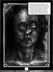 Frankenstein Illustration by bloedzuigerbloed