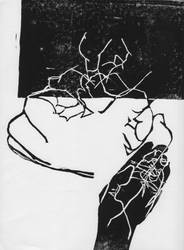Hand Prints by bloedzuigerbloed