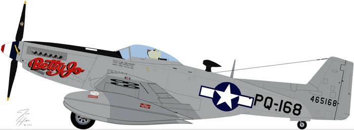 P-82B Betty Jo Parked