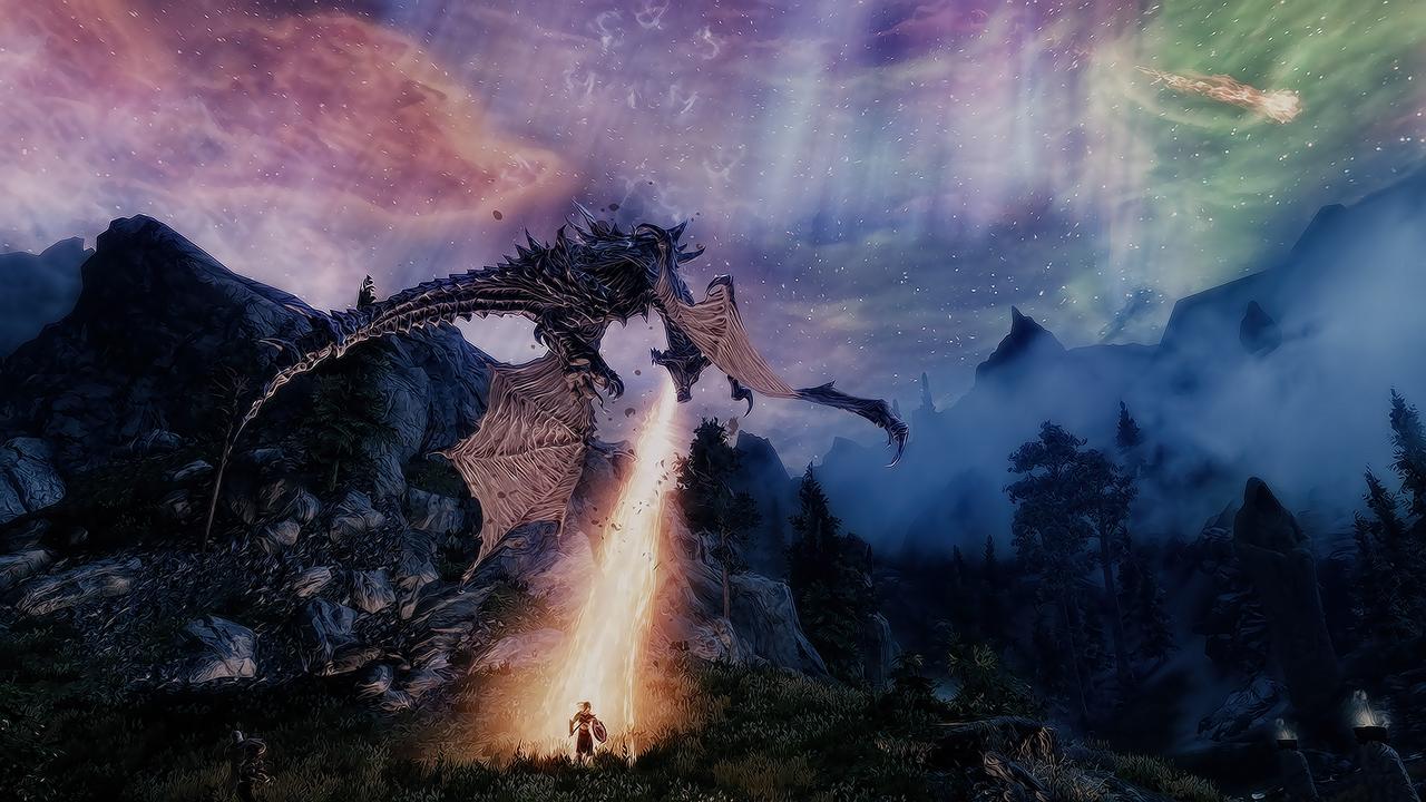 the_elder_scrolls_v__skyrim__aurora_by_d