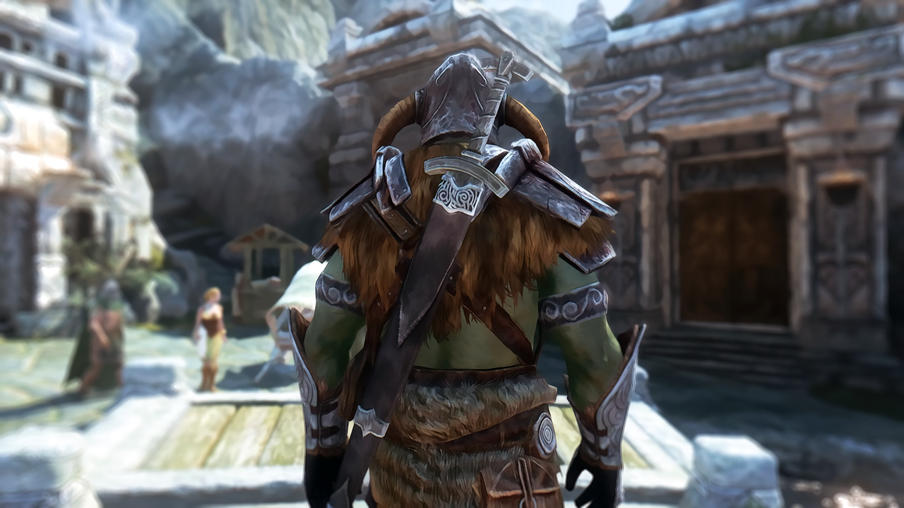 skyrim orc wallpaper - photo #14