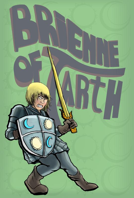 Brienne of Tarth by ulgyashell