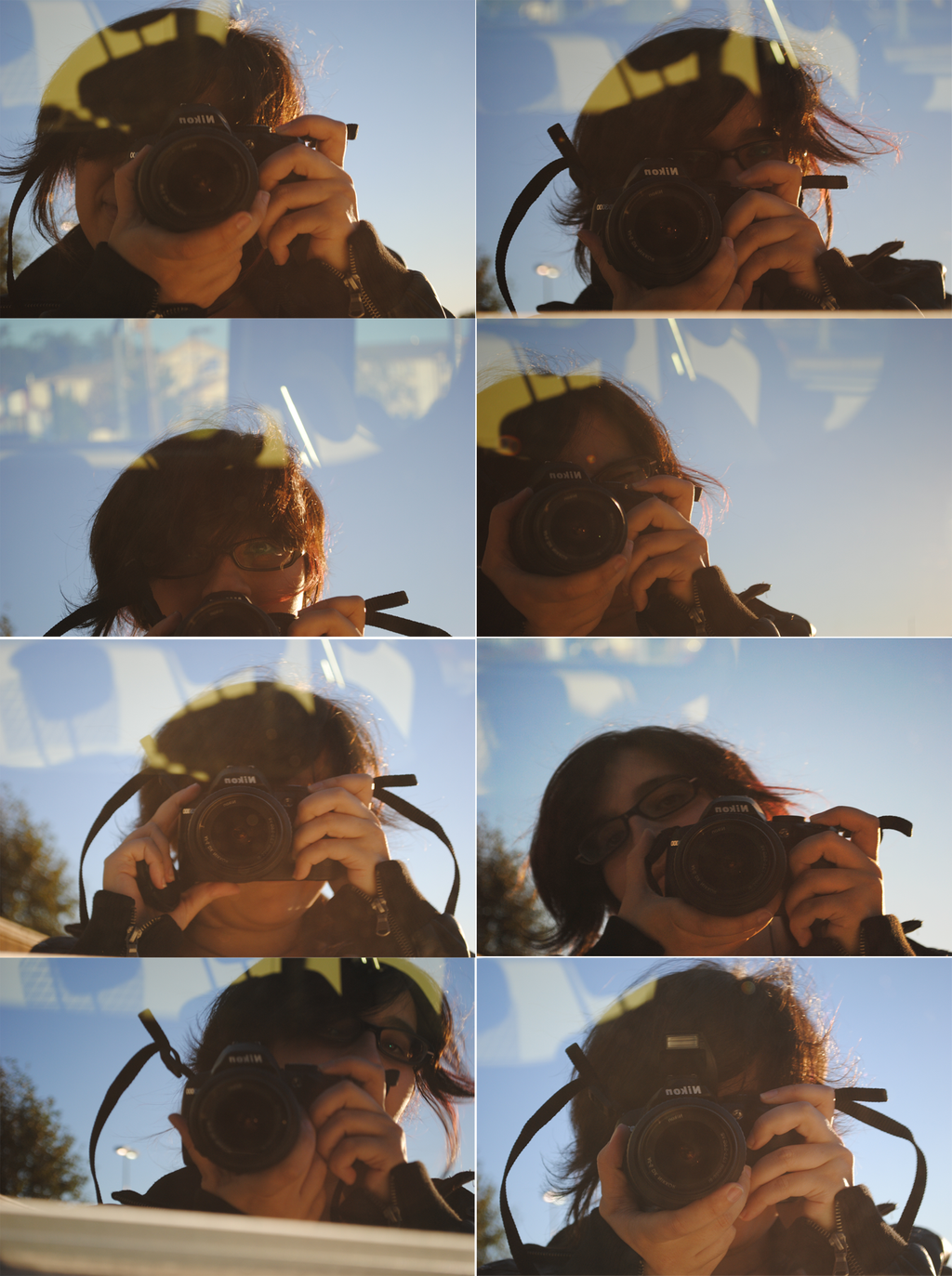 me In Car Reflections. by ~Kouyukki on deviantART