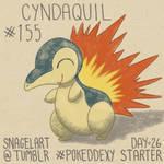 Pokeddexy26 - Starter: #155 Cyndaquil