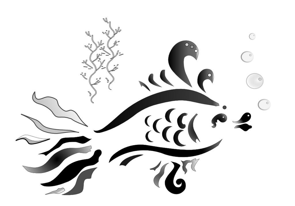 Fish by net-uash