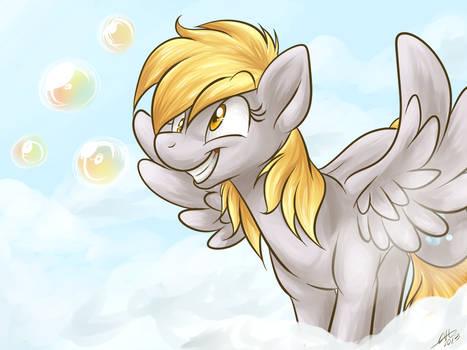 Bubbly little Pegasus.