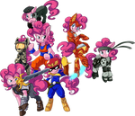 COMMISSION: Pinkiepalooza