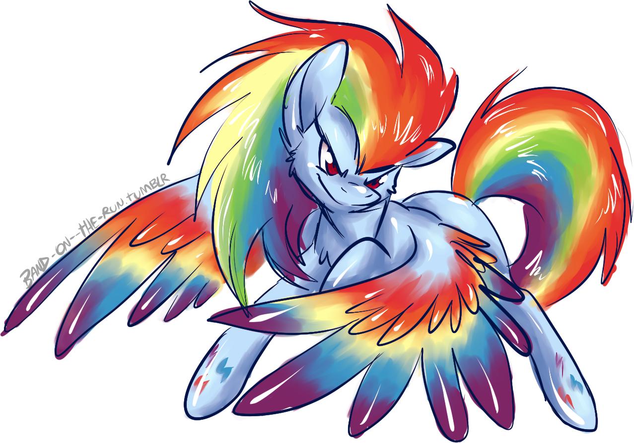 30 MINUTE CHALLENGE: Mega Rainbow Dash! by BritishStarr