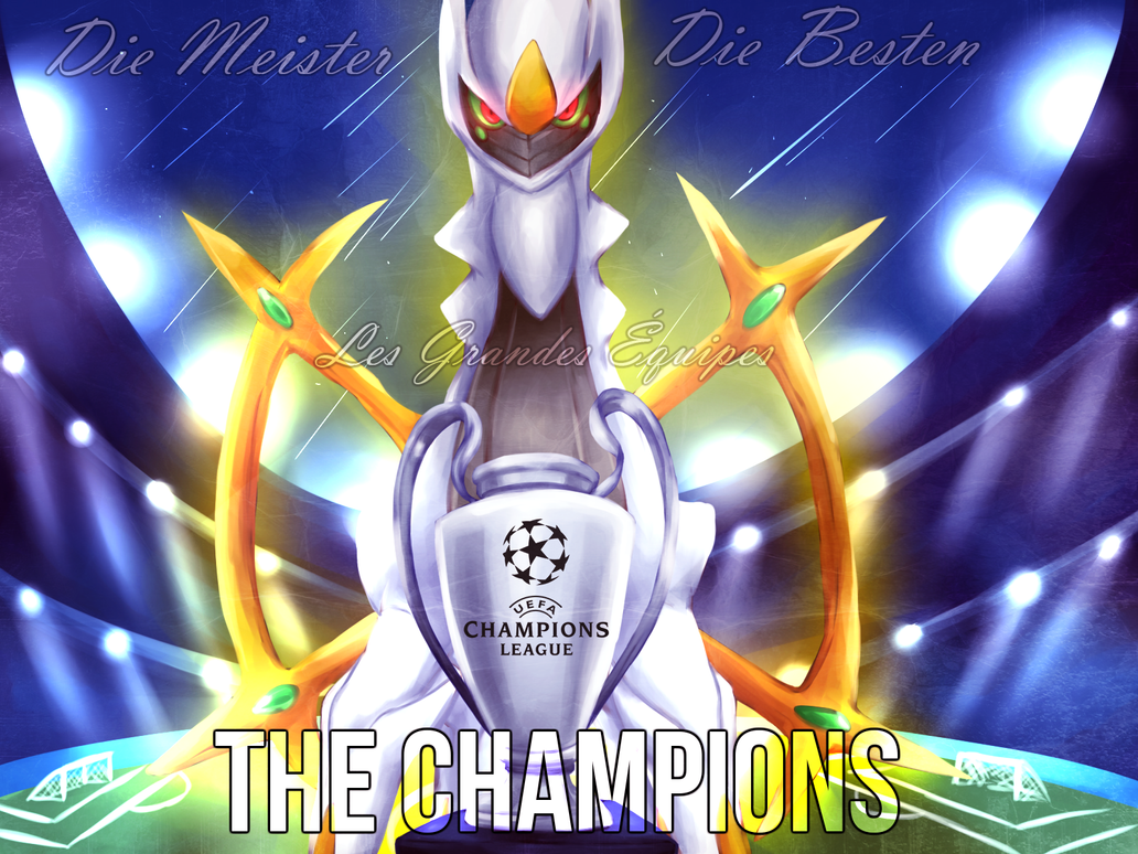 Pkmn x UEFA: The Champions by BritishStarr