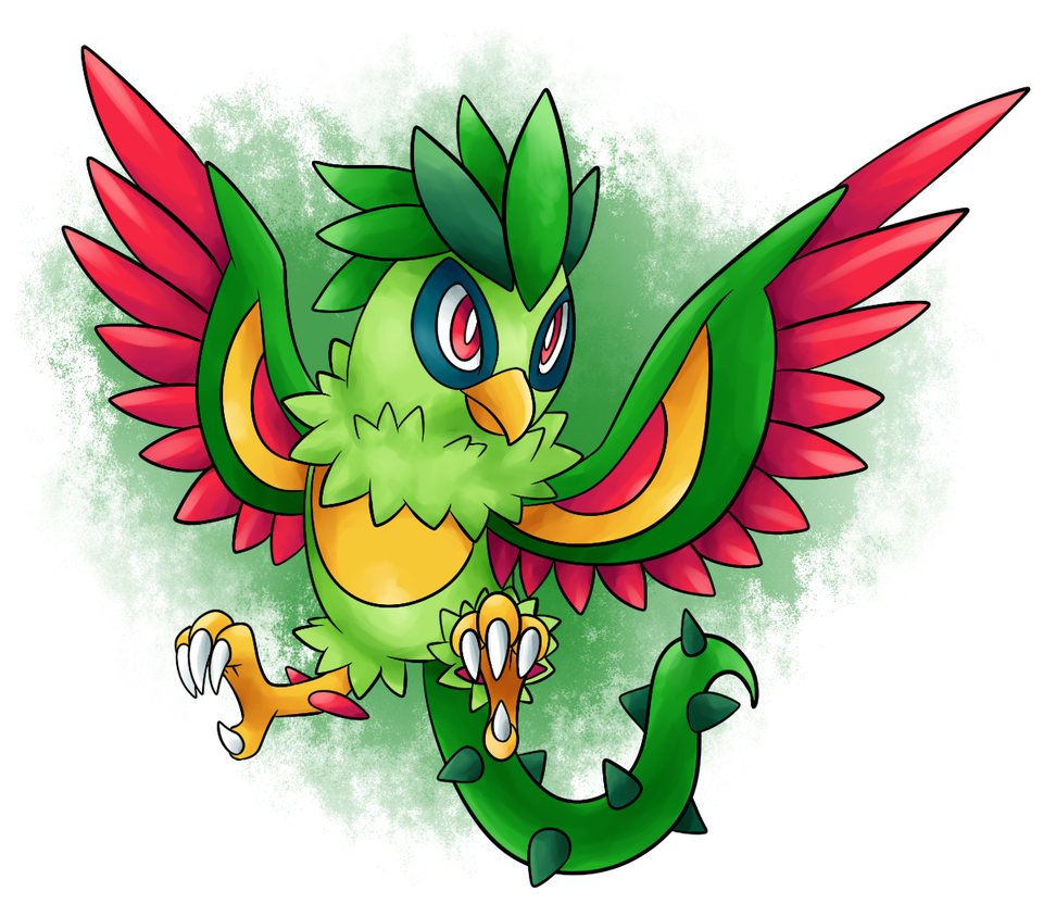 FAKEMON: Carrow by BritishStarr