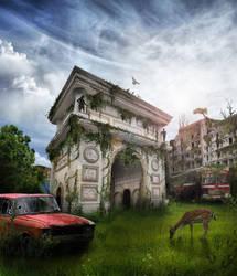 Post apocalyptic Skopje