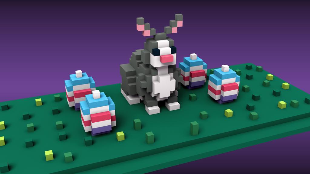 Easter (voxel) by KRNZ