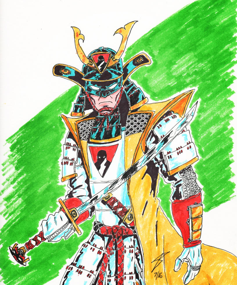 Space Ghost Samurai by coyote117