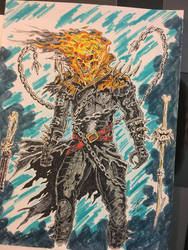 Ghost Rider Concept by coyote117