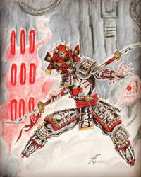 Darth Maul Samurai by coyote117