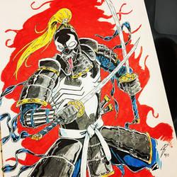 Samurai Venom by coyote117