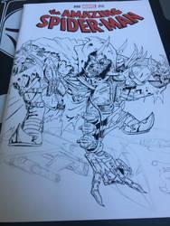 Hobgoblin Sketch Cover Begins by coyote117