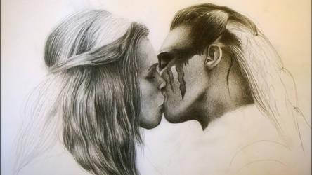 Clarke and Lexa (in progress)