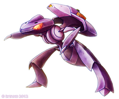 Genesect by Deltheor
