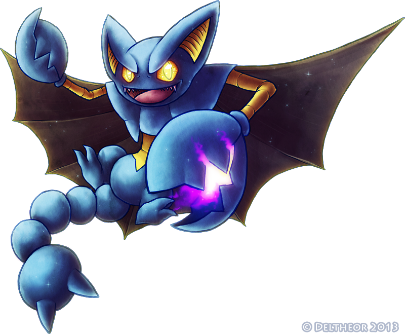 Gift Shiny Gliscor By Deltheor On Deviantart