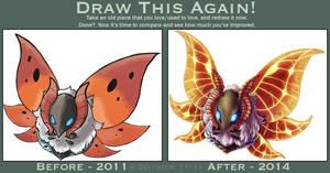 Draw This Again: Volcarona